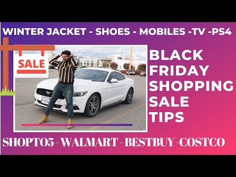 SHOPPING TIPS CANADA  BLACK FRIDAY SALE   ShopTop5