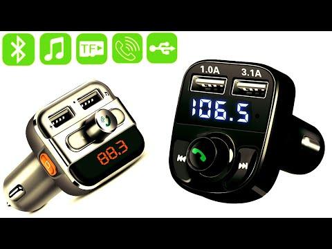 Беспроводной музыкальный плеер, зарядка, звонки на громкой связи, алиэкспресс обзор