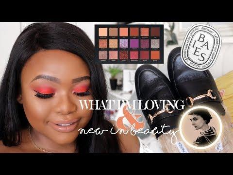 WHAT I'M LOVING + NEW IN BEAUTY | Cynthia Gwebu