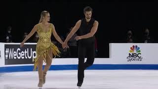 Мэдисон Хаббелл Захари Донохью Фигурное катание Этап Гран при Скейт Америка 2020 21 Ритм танец