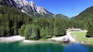Platzl am See am Antholzer See in Südtirol