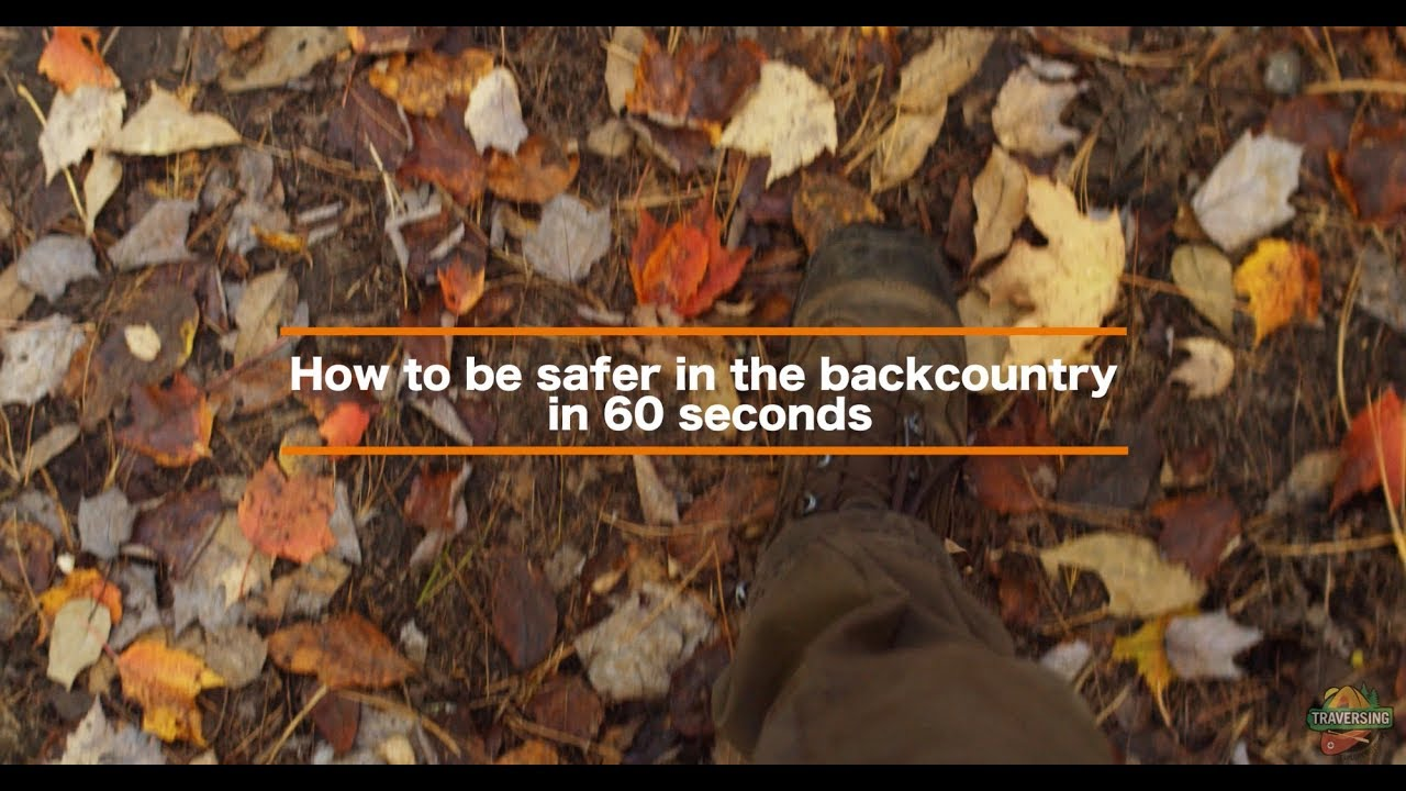 Backcountry Safety Tip In 60 Seconds: Avenza Maps