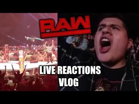 WWE RAW SUPERSTAR SHAKEUP 4/10/17 LIVE REACTIONS VLOG!!!