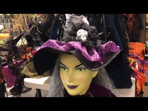 Witchy Halloween Decor at Tuesday Morning 2019!