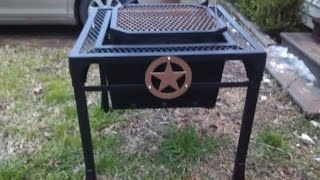 """western"" Fire Pit/grill Build"