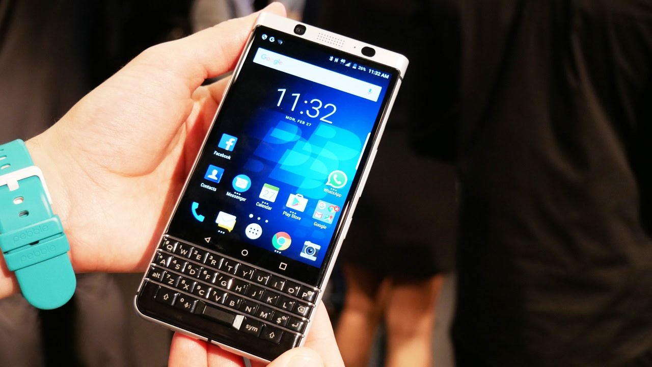 Смартфон BlackBerry | Первый обзор кнопочного смартфона BlackBerry KEYone