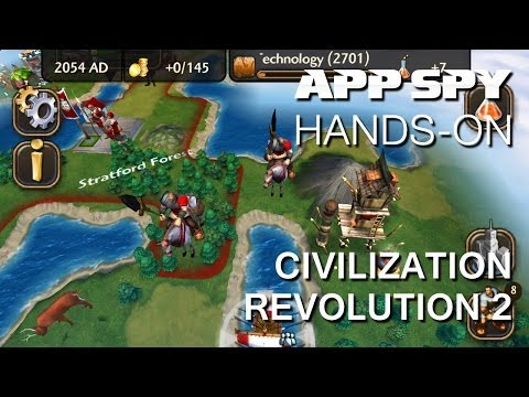 Civilization Revolution 2 | IOS IPhone / IPad Hands-On - AppSpy.com