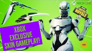 Lets unlock this SUPER Rare Skin! Fortnite Xbox One EON skin gameplay! Fortnite battle royale skin!