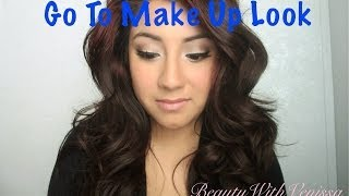 Go To Make Up Look | Beauty With Venissa Thumbnail