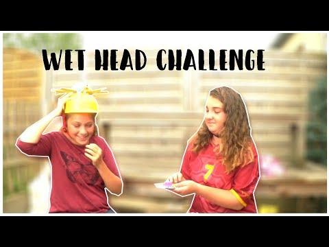 WET HEAD CHALLENGE | Cassie Mini Vlog