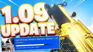 *NEW* 1.09 UPDATE in MODERN WARFARE is...