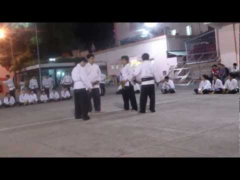 Karate Shorin Ryu - K88-21.1.2013- White belt vs Yellow