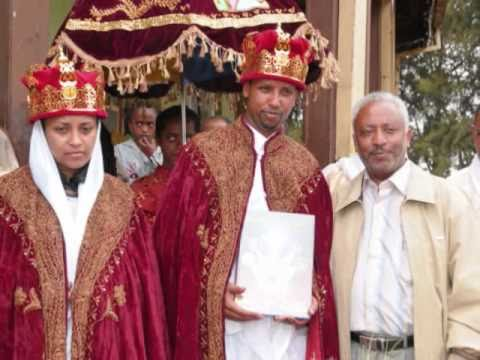 Kesis Zelealem Tsige And Zemarit Senait Sala Wedding 2008