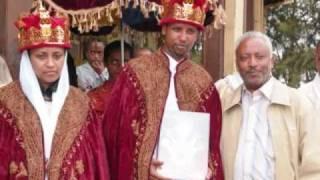 kesis zelealem tsige and zemarit senait sala wedding 2008