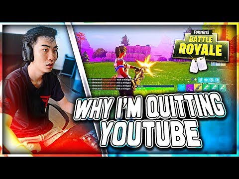 Why I'm Quiting YouTube (Professional Fortnite)