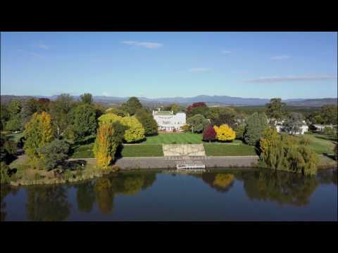 DJI Mavic Pro - Lake Burley Griffin - Autumn Colours in 2k