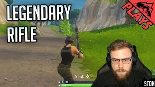 LEGENDARY RIFLE - Fortnite Battle Royale (PC Epic Games - Fortnite BR Gameplay)