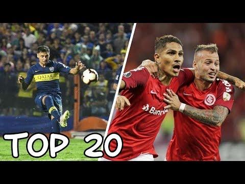 COPA LIBERTADORES 2019 | TOP 20 GOLES | Fase de grupos
