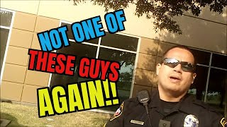 COP PUT IN HIS PLACE!!! LIBERTY FREAK REFUSES UNLAWFUL I.D. FAIL