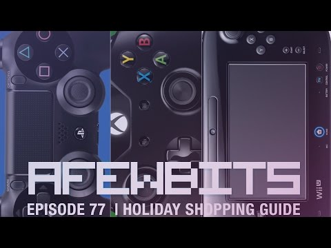 A Few Bits Podcast Ep. 77 - Holiday Shopping Guide