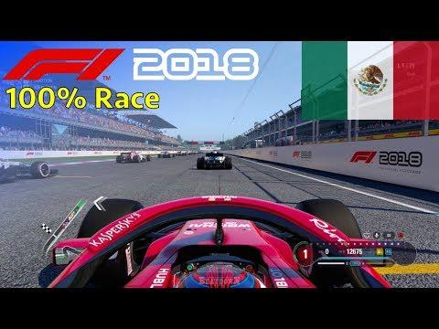F1 2018 - 100% Race @ Autódromo Hermanos Rodríguez, Mexico in Räikkönen's Ferrari