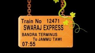 Train no 12471 TRAIN NAME SWARAJ EXPRESS BANDRA TERMINUS BORIVALI VAPI