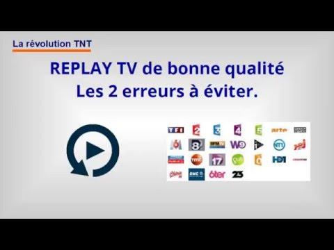 TV REPLAY gratuit en HD sans connexion internet.