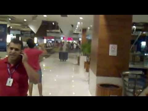 Pânico no Goiânia Shopping - Inundação