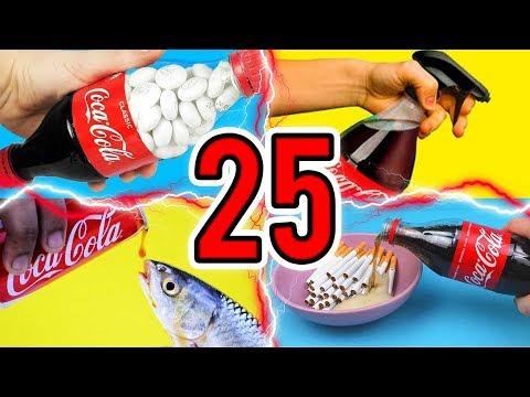 25 SNELLE COCA COLA LIFE HACKS!
