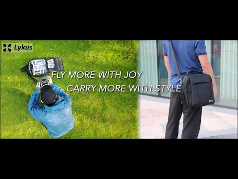 Lykus M1 Water Resistant 4-in-1 Bag for DJI Mavic Pro Introduction