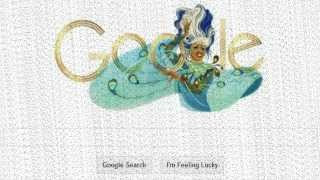 Celia Cruz's 88th Birthday Google Doodle