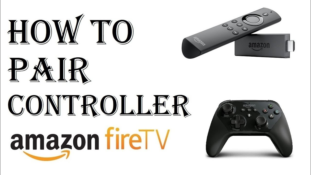 How to Pair Controller to Amazon Fire TV - Pair controller using Bluetooth  Amazon Fire Stick