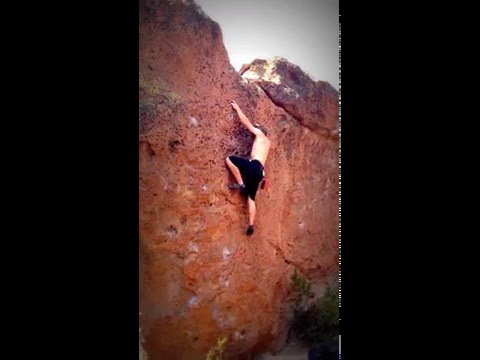 Climbing at The Dreamers