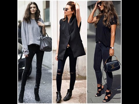 Some can look good, like above, but other can look absolutely terrible (scroll down post to see which shoes not to wear with tight jeans!!). Skinny jeans and wedges look best with a sexy wedge. Try to pair your skinnies with a wedge that has the following traits.