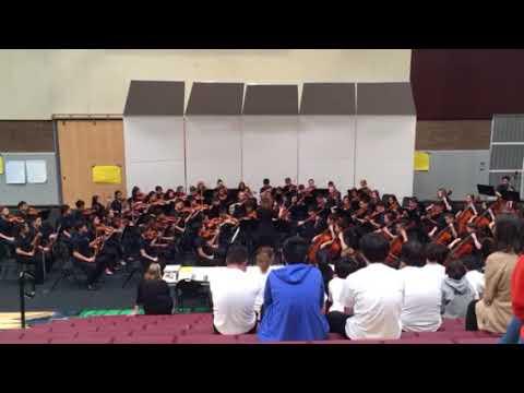 Pacific Cascade Middle School festival, Interludium in Modo Antico Level 4