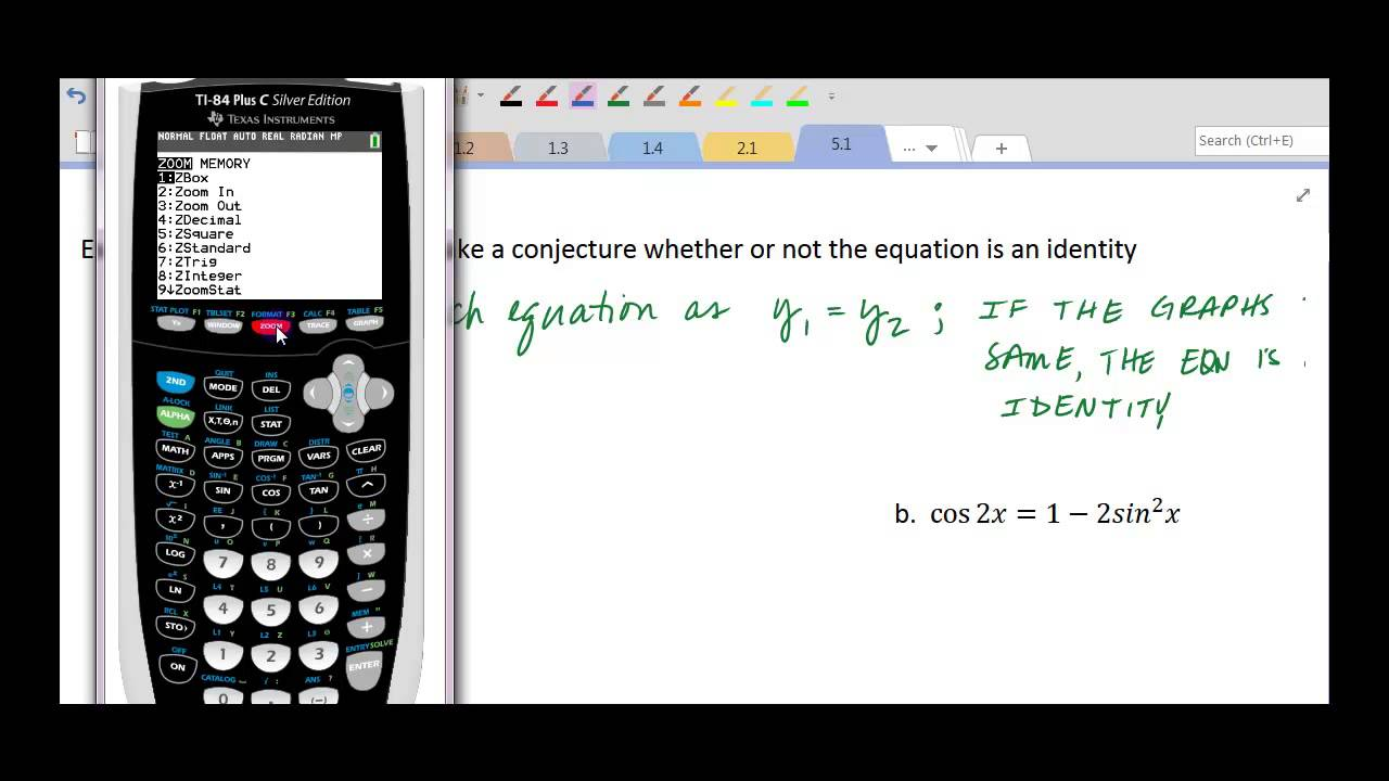 Verify Ideny With Calculator