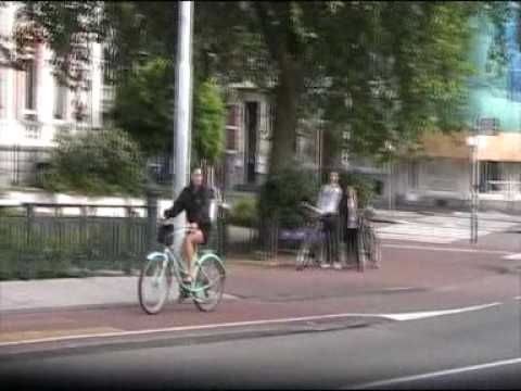 pretty girls on bikes in holland