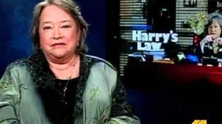 Sarah Talks 'Harry's Law' With Kathy Bates