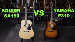 Squier SA150 VS Yamaha F310 - Guitar Battle #13