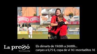Resum del CF Reus Deportiu 1-0 RCD Mallorca 'B'