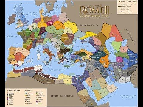 Смотреть Rome 2 total war ( Экономика , строительство ,  торговля , рабы ) онлайн