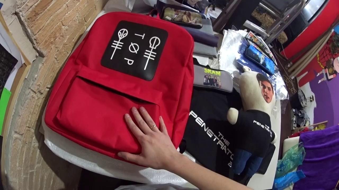 К сожалению, продано. Рюкзак system of a down. Рюкзак с вышивкой. Два отделения на молнии. Материал: текстиль. 1 300,00 руб. В корзину. Стоимость доставки. Есть в наличии; отправка в течение 3-5 дней1. Рюкзак twenty one pilots. Рюкзак с вышивкой. Два отделения на молнии. Материал: текстиль.