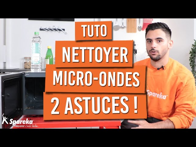 Nettoyer son micro ondes avec 2 astuces simples !