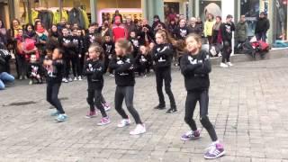 Dansgroep Reality dansen in Mosea Forum Maastricht