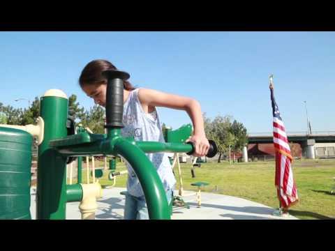 iClip - Cesar E. Chavez Park Fitness Zone