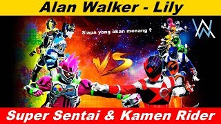 Download lagu Lily Versi Super sentaiKamen rider mana yang paling keren MP3