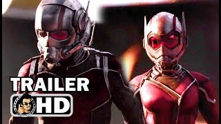 "ANT-MAN AND THE WASP ""Avengers 4 Quantum Realm"" Trailer (2018) Marvel Superhero Movie HD"