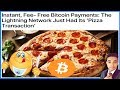 😱First Bitcoin Lightning Network Payment to Buy a Pizza ! 😍🍕
