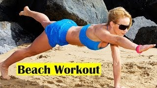 Beach Workout for Tight Body