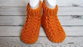 Детские носочки крючком | Crochet baby socks
